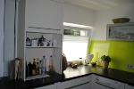 Küche eingebaut Schrank mit Rollo
