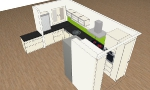 Küche in 3D